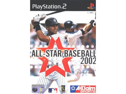 PS2 All Star Baseball 2002
