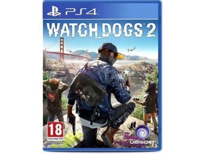 PS4 Watch Dogs 2 CZ