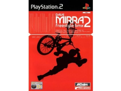 PS2 Dave Mirra Freestyle BMX 2