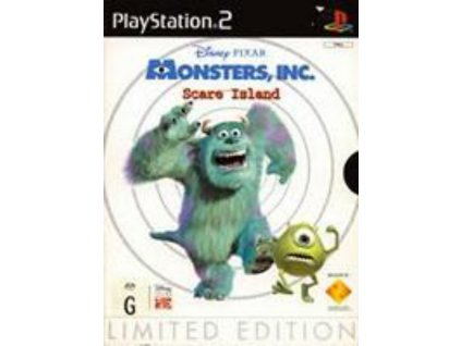 PS2 Disney Pixar's Monsters, Inc Scare Island LIMITED EDITION