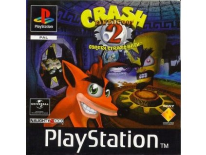 PS1 Crash Bandicoot 2 cortex strikes back