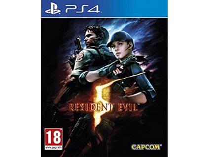 PS4 Resident Evil 5 HD PS4