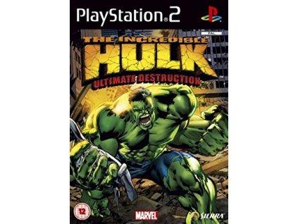 ps2 the incredible hulk