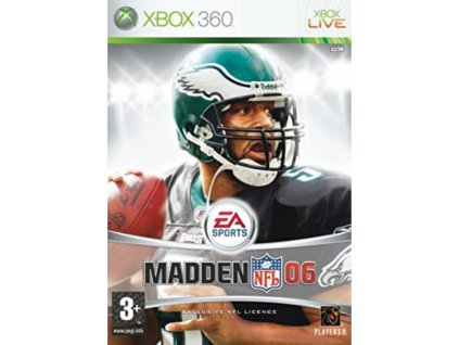 XBOX 360 Madden NFL 06