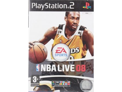 PS2 NBA live 08