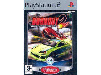 PS2 Burnout 2: Point of Impact PLATINUM