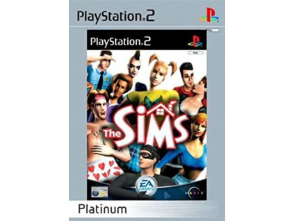PS2 The Sims PLATINUM