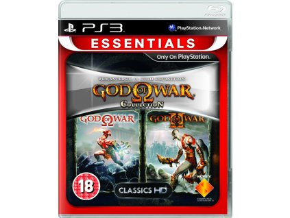 PS3 God of War Collection PS3