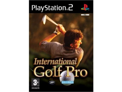 PS2 International golf pro