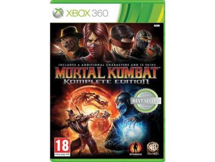 xbox 360 mortal kombat komplete edition