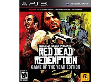 ps3 red dead goty