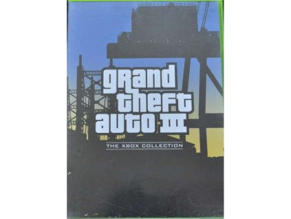 XBOX grand theft auto 3 collection