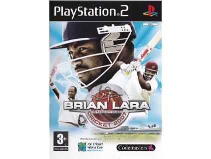 PS2 Brian Lara International Cricket 2007