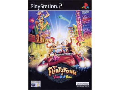 ps2 the flintstones in viva rock vegas