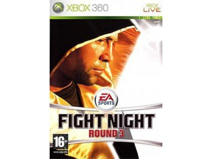 XBOX 360 EA Sports Fight Night Round 3