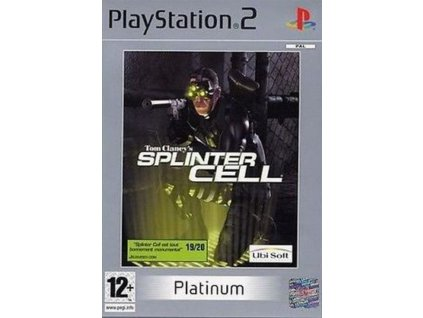 PS2 Tom Clancy's Splinter Cell PLATINUM