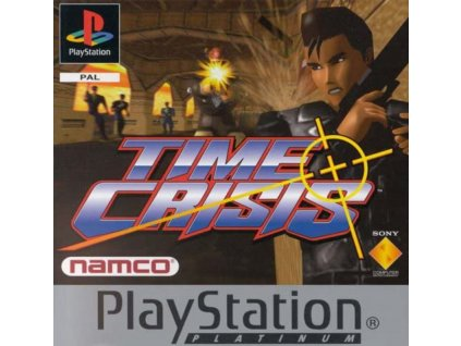 PS1 Time Crisis PLATINUM