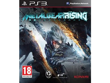 PS3 Metal Gear Rising Revengeance
