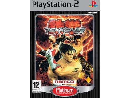 PS2 Tekken 5 PLATINUM
