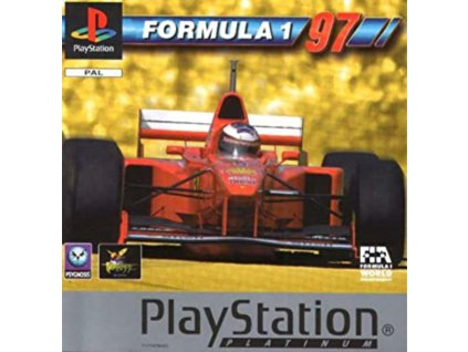 PS1 Formula One 97 PLATINUM