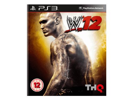PS3 WWE SmackDown vs Raw 2012