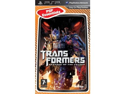PSP Transformers Revenge of the Fallen The Game