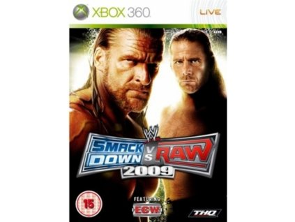 XBOX 360 WWE SmackDown vs Raw 2009