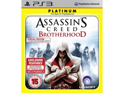 Assassin's Creed Brotherhood Platinum