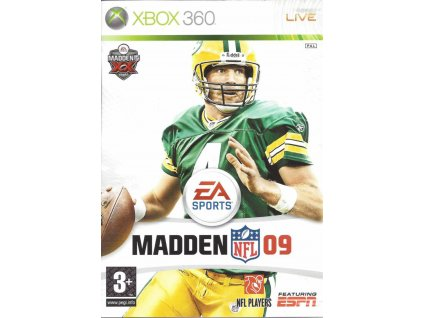 XBOX 360 Madden NFL 09