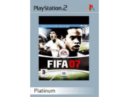 PS2 FIFA 07 platinum