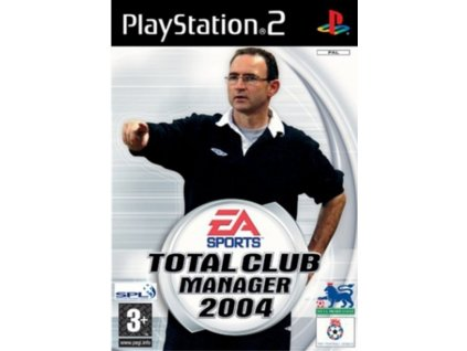 PS2 total club manager 2004