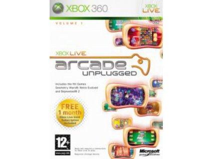 XBOX 360 Xbox Live Arcade Unplugged Volume 1