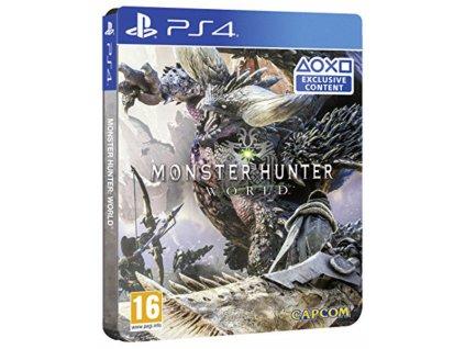 PS4 Monster Hunter Steelbook