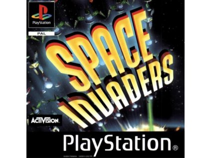 PS1 space invanders