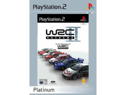 PS2 World Rally Championship II Extreme PLATINUM