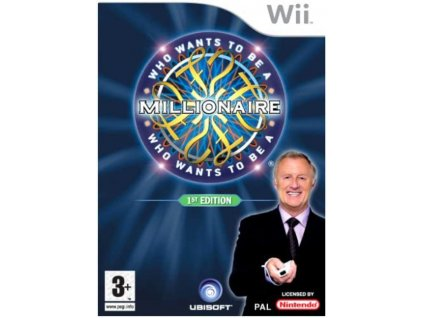 Wii Who Wants To Be A Millionaire 1st Edition
