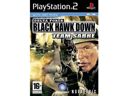 PS2 delta force black hawk down team sabre