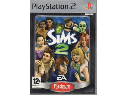 PS2 The Sims 2 PLATINUM