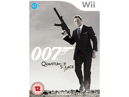 Wii James Bond 007 Quantum of Solace