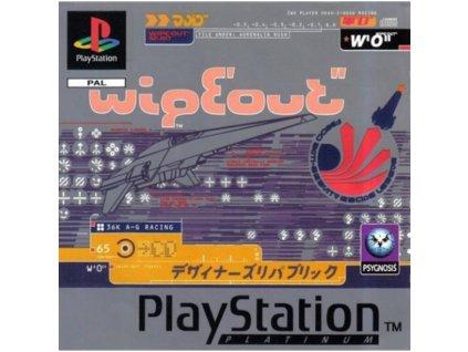 PS1 Wipeout Platinum