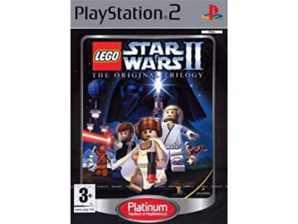 PS2 Lego Star Wars 2 original trilogy PLATINUM