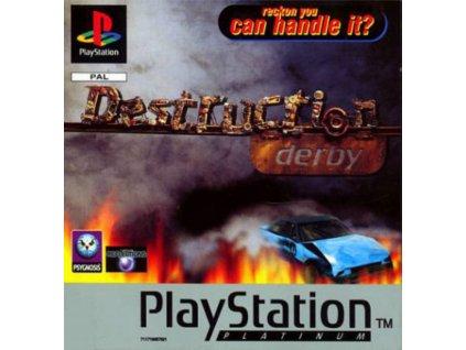 PS1 Destruction Derby PLATINUM