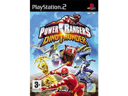 Power Rangers Dino Thunder (PS2)