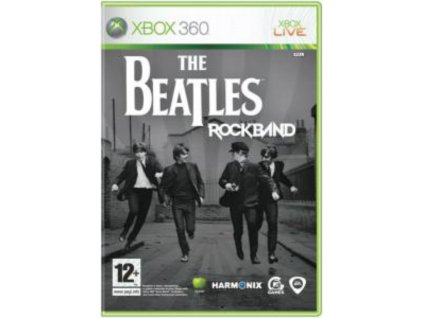 xbox 360 the beatles rock band