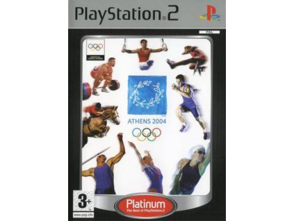 PS2 Athens 2004 PLATINUM