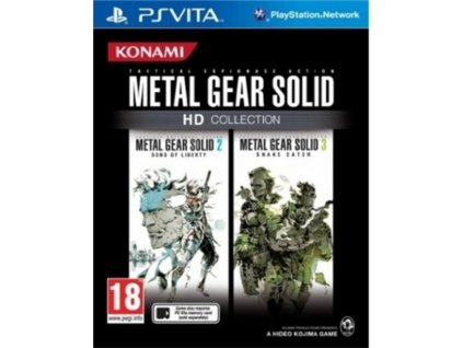 ps vita metal gear solid collection