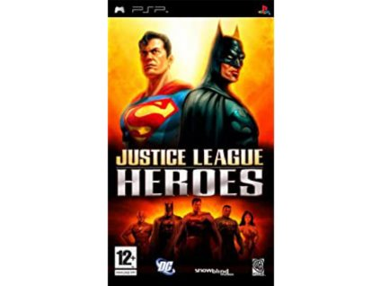 psp justice league heroes