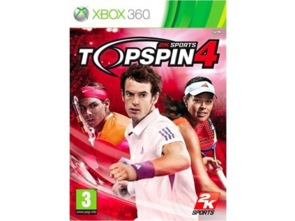 XBOX 360 Top Spin 4