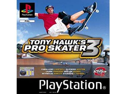 PS1 Tony Hawk´s Pro Skater 3