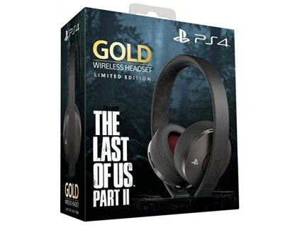 PS4 Limited Edition The Last of Us Part II Gold Wireless Headset 7.1